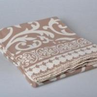Одеяло Завиток коричневый, 140х205 см
