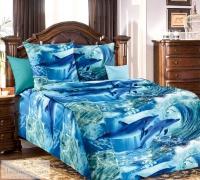 Дельфинарий 1 бязь 1,5-спальный