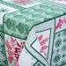 Скатерть Арт Дизайн Метелица зеленый, рогожка, 150х145 см, арт. СБ.150.150