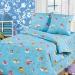 Постельное белье Артпостель Бязь 150 Облачко (голубой), 1,5-спальное, арт. 100