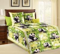 Панды бязь 1,5-спальный