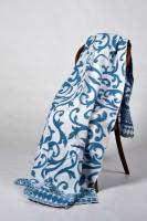 Одеяло Завиток синий, 140х205 см