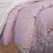 Постельное белье Артпостель Поплин DE LUXE с простынёй на резинке Сакура Семейное, арт. 933