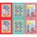Набор из 3-х вафельных полотенец Волшебные краски Артпостель