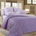 Постельное белье Этюд 9 фиолетовый сатин, упаковка подарочная коробка