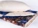 Комлект из одеяла-покрывала и стеганой подушки Natures Вечерний город (арт. УТ-1633)