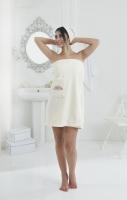 Набор для сауны женский  Pera (кремовый)