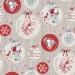Вафельное полотенце Рождество 1 100х150 см