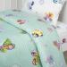 Детское постельное белье  Бусинка зеленый Артпостелька Поплин, ясельное арт. 922