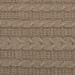 Вязанный плед Крем-брюле 140х180 см