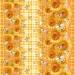 Вафельное полотенце Кубаночка 1 беж 100х150 см