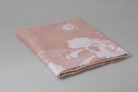 Одеяло Байковое Персиковое