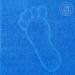Полотенце Ножки (синее) махровое 50х70 см