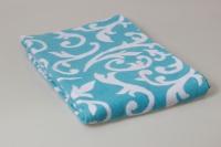 Одеяло Завиток бирюза, 140х205 см