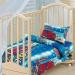 Детское постельное белье Артпостелька Бязь Ралли, с простынёй на резинке, ясельное арт. 131
