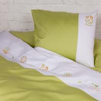 Детское постельное белье Gertrude Palette Grass 845 1,5-спальный