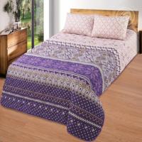 Одеяло-покрывало Скандинавские мотивы с наволочками поплин
