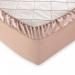 Простыня на резинке Текс-Дизайн Гладье 8 какао перкалевая 180х200х25 см арт. Р114П1