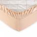 Простыня на резинке Текс-Дизайн Нежный персик перкалевая 90х200х25 см арт. Р110П1