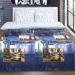 Постельное белье Артпостель Поплин DE LUXE Нью-Йорк, 2-спальное с Евро простынёй, арт. 909