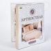 Персик Постельное белье Артпостель Поплин DE LUXE с простынёй на резинке