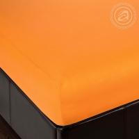 Простыня на резинке Апельсин трикотаж