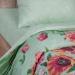 Артпостель Поплин DE LUXE Флорес, 2-спальное с Евро простынёй, арт. 909