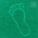 Полотенце Ножки (зеленое) махровое 50х70 см