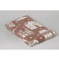 Одеяло Город коричневый 170х205 см