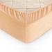 Простыня махровая на резинке Кремовая 140х200х30 см Текс-Дизайн арт. Р012Р