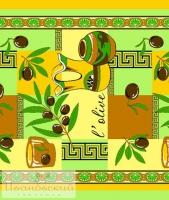 Вафельное полотенце «Оливки»