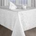 Скатерть Изабель (белый)  120х160 см с салфетками, арт. 04.12.15
