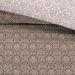 Постельное белье Этюд 5 кофе сатин, упаковка ПВХ пенал