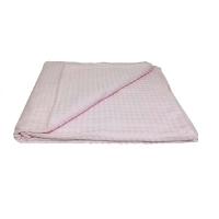 Простыня вафельная для бани Розовый 200х180 см