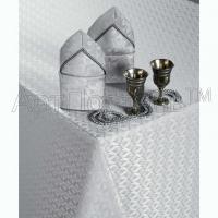 Скатерть «Фидель» серебро с салфетками