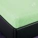 Простыня на резинке Артпостель Клетка (зеленый) трикотаж