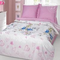 Розовые мечты сатин 1,5-спальный