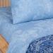 Артпостель Поплин DE LUXE Синий узор, Семейное, арт. 920