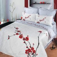 Зимняя вишня сатин 1,5-спальный