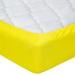 Простыня махровая на резинке Артпостель Лимон