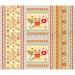 Набор из 3-х вафельных полотенец Золотой петушок Артпостель