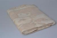 Одеяло детское беж, 100х140 см