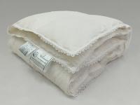 Одеяло Natures Пуховое облако с кружевом 100х150 см
