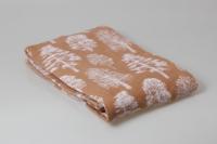 Одеяло Деревья бежевые, 140х205 см