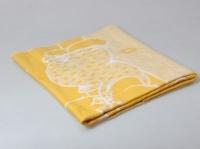 Одеяло Байковое Желтое