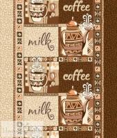 Вафельное полотенце «Кофе»