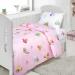 Детское постельное белье Артпостелька Поплин Бусинки (Розовый), ясельное арт. 922