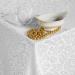 Скатерть Арабель (белый) 220х150 см с салфетками, арт. 01.20.15