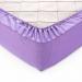 Простыня на резинке Текс-Дизайн Текстура сиреневый перкалевая 90х200х25 см арт. Р110П1